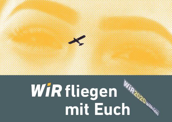 Der WiR2020 Flieger